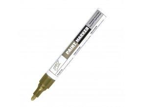 PAINTMARKER - olejový popisovač zlatý
