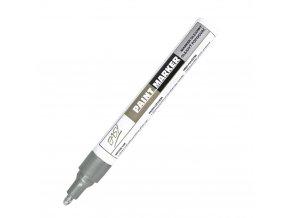 PAINTMARKER - olejový popisovač stříbrný