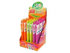 Kuličkové pero FEBO mix barva 0.7MM