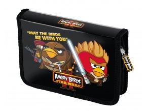 Penál 1 patrový s 2. chlopní Angry Birds