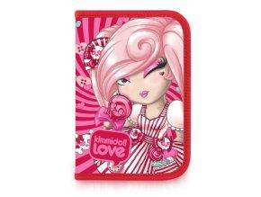 Penál Patio Kimmidoll pink 1 zip vybavený