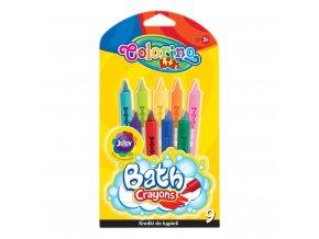 Pastelky do vany Colorino 9ks - 3 POSLEDNÍ KUSY -