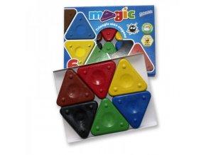 Sada magické trojboké voskovky 6ks box