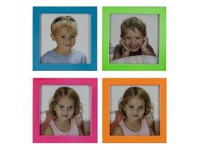 Fotorámeček 6,5 x 6,5 hliníkový 4 barvy