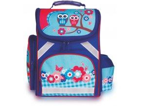 Školní batoh Owls + pytel na přez. ZDARMA