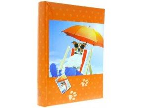 Fotoalbum 10x15/300foto B-46300 Play oranžový