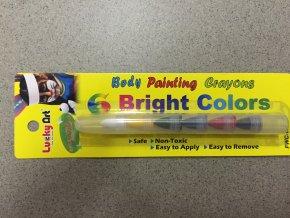 Barvy na obličej Bright
