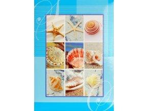 Fotoalbum 9x13/200foto B-35200S Bloom modrý