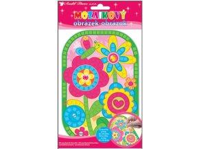 Mozaika květiny 10159 , 25x14cm - 2 POSLEDNÍ KUSY -