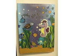 Fotoalbum 10x15/36foto DPH4636 Under the Sea Mořský koník