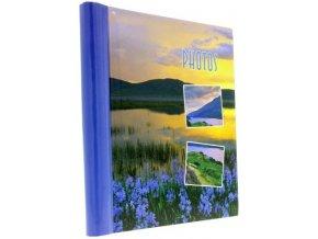 Fotoalbum samolepící DRS-20 Distance modré kytky - 2 POSLEDNÍ KUSY -