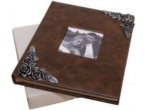 Fotoalbum na fotorůžky DBCL-50(B) Brass hnědý