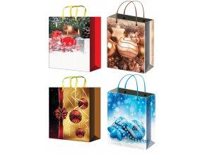 Taška vánoční dárková S 12000 , 15x12x5,5cm