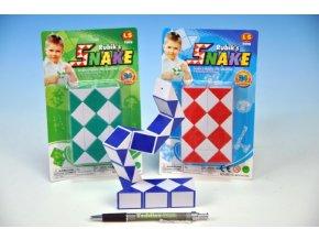 Hra had hlavolam plast na kartě asst 3 barvy