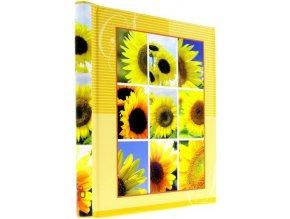 Fotoalbum samolepící DRS-20 Bloom žlutý