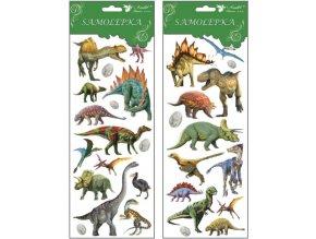Samolepky dinosauři 34,6x12,8 cm , 1251