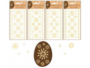 Samolepky velikonoční gelové sláma 19 x 9cm 831