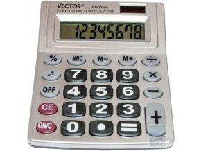 Kalkulačka se zvukem VECTOR 886194