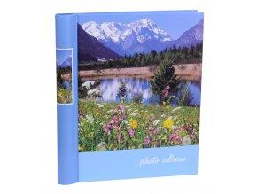 Fotoalbum samolepící DRS-20 Příroda modrý