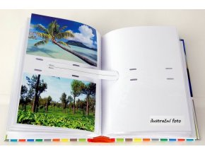 Fotoalbum 10x15/200foto Vinyl zelený