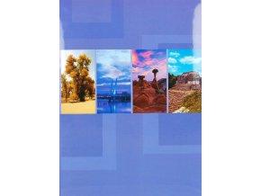 Fotoalbum 10x15/200foto B-46200S(PL) Elements fialový