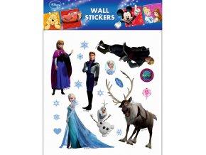 Samolepky na zeď Disney Ledové království 21082 , 30x39cm