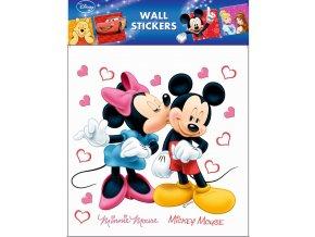 Samolepky na zeď Disney Minnie a Mickey Mouse 21085 , 30x39cm