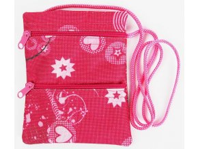 Pouzdro na krk Pocket růžové
