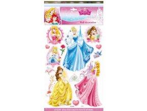 Samolepky na zeď Disney Princezny 3D 06624 , 40x29cm