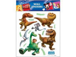 Samolepky na zeď Disney Hodný dinosaurus 21094 , 30x30cm - 2 POSLEDNÍ KUSY -