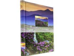 Fotoalbum samolepící DRS-20 Scenery ružová kytka