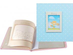 Fotoalbum 10x15 PA-4660(CB) CZ Baby modrý