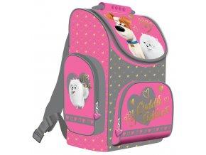 Školní batoh Tajný život mazlíčků - pro holky