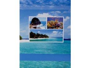 Fotoalbum samolepící DRS-20 Lagoon modrý