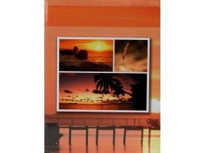 Fotoalbum samolepící DRS-20 Lagoon oranžový