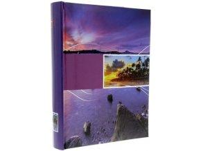Fotoalbum 10x15/300foto B-46300 Infinity fialový - 2 POSLEDNÍ KUSY -