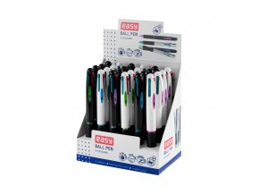 Čtyřbarevné kuličkové pero EASY