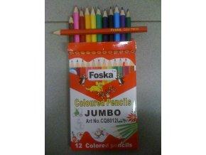Pastelky Foska JUMBO 12ks - 2 POSLEDNÍ KUSY -