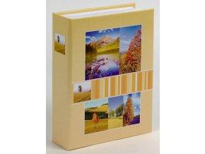 Fotoalbum 9x13/200foto MM-35200 Midland 2 žluté