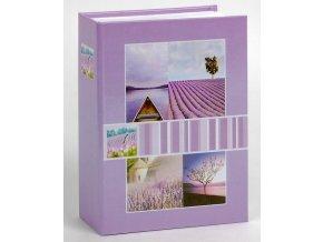 Fotoalbum 9x13/200foto MM-35200 Midland 3 fialové
