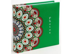 Fotoalbum 10x15/200foto KD-46200 Mandala 3 zelené