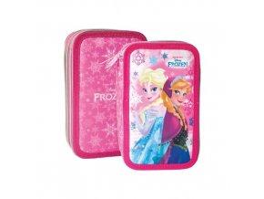 Penál 3 patrový prázdny Frozen Pink Joy