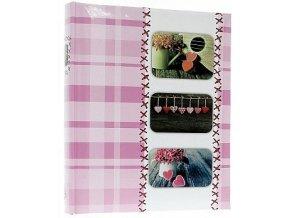 Fotoalbum 10x15/500foto B-46500S Sweet Heart růžový