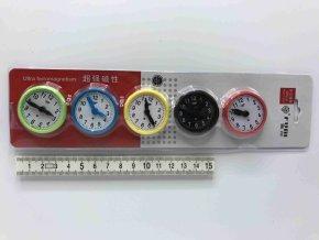 Magnet hodiny 5ks 3,5cm