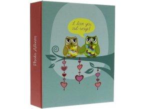 Fotoalbum 10x15/304foto MM46304 Owlwe I love you owl-ways