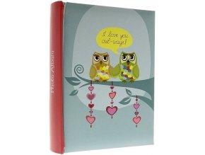 Fotoalbum 10x15/200foto B-46200S Owlwe I love you owl-ways !