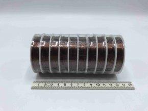 Drátek - bronz - 0,4 mm x 10 m - 10 ks