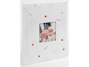 Fotoalbum samolepící BSS-20W Sweetheart 1 červené srdce