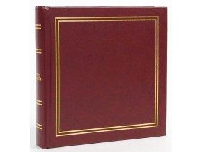 Fotoalbum 13x18/50foto B-5750S Vinyl 1 vínové