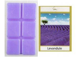 Vonný vosk LEVANDULE do aroma lampy, 64 g